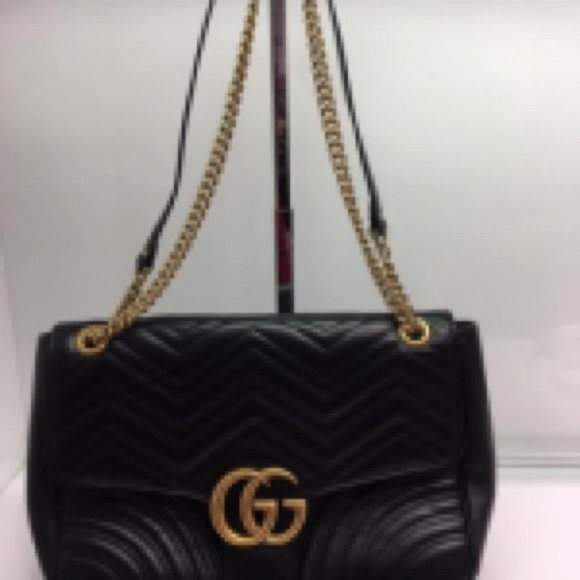 Gucci Handbags - GG Marmont Large New!